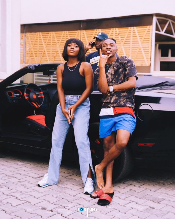 84DBFF42 29F8 4FF2 B0BE 1A27916C6684 Female Singer Gyakie Working On A Project With Mayorkun? – See Photos