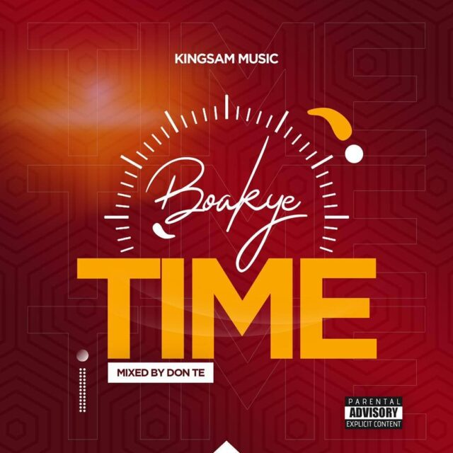 Boakye - No Time (Prod. by Don Te)