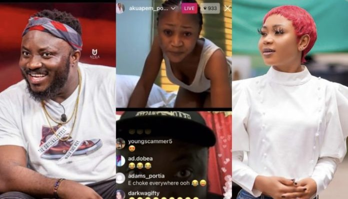 Akuapem Poloo And DKB's Fierce Beef Turns Out To Be April Fool