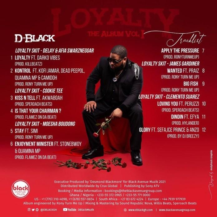 D-Black – Loyalty (Full Album)