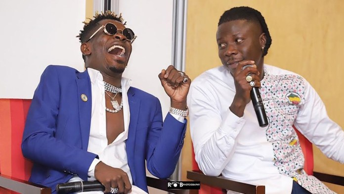 Stonebwoy Explains Why He Didn't Congratulate Shatta Wale For Winning IRAWMA On The Media