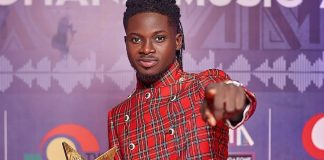 I prophesized my VGMA Artiste of the Year win 3 years before it happened – Kuami Eugene Vows