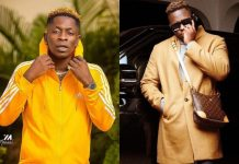 Medikal And Shatta Wale Spray Each Other With Cash At A Club In A Video