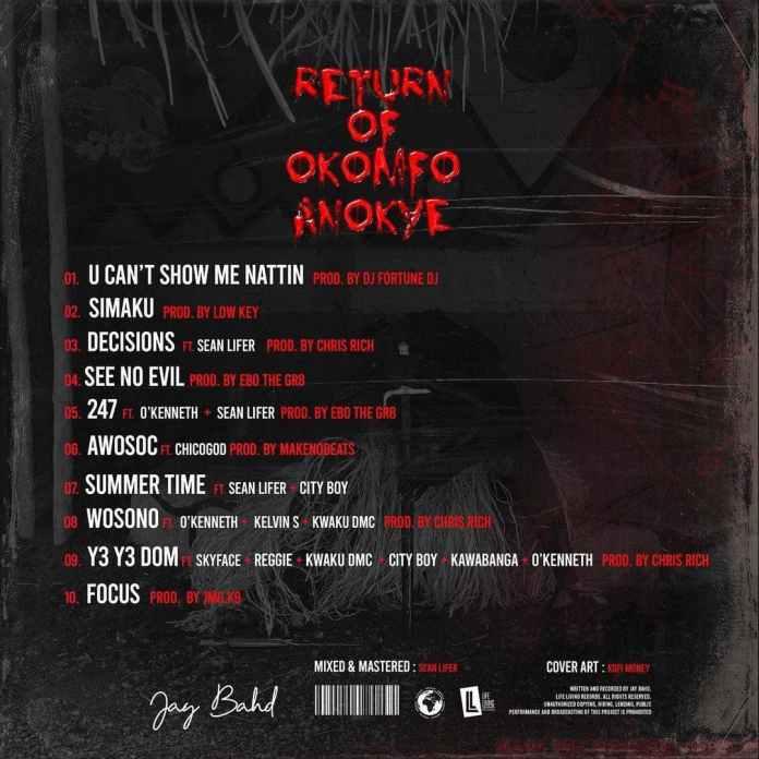Jay Bahd – Return Of Okomfo Anokye (Full Album)