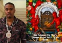 Listen to Nas' new album, King's Disease II, which features Eminem, Ms. Lauryn Hill, and other artists.