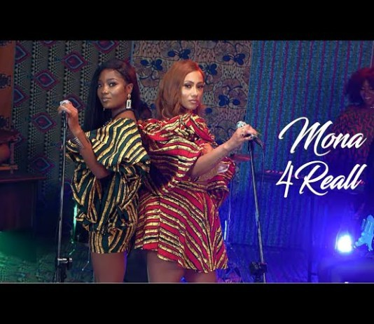 Watch Mp4: Mona 4Reall Ft Efya - Gimme Dat Video