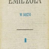 """Odór rynsztoków i spelunek  (Emil Zola, """"W matni"""")"""