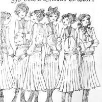 """Młoda dama w kalesonach taty  (Klara Feher, """"No cóż, za moich czasów..."""")"""