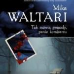 """Ostatnie spotkanie z komisarzem Palmu (Mika Waltari, """"Tak mówią gwiazdy, panie komisarzu"""")"""