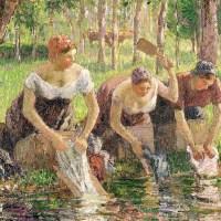 """Pranie literackie, cz. 2: """"Dobrze jest nad wodą wystawić szopę, w której praczki piorą..."""""""