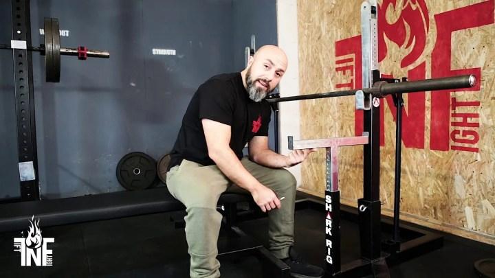 Home Gym Panca rack ZacrosLog