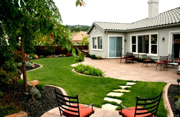landscaping ideas ranch
