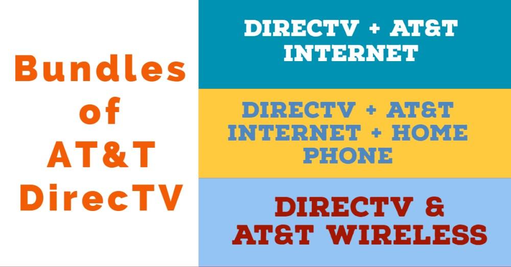 AT&T DirecTV Bundles