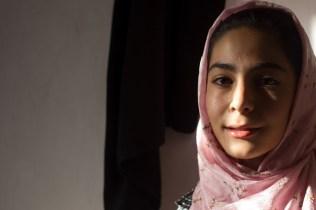Sara, 14 yrs. Khemes, Iran