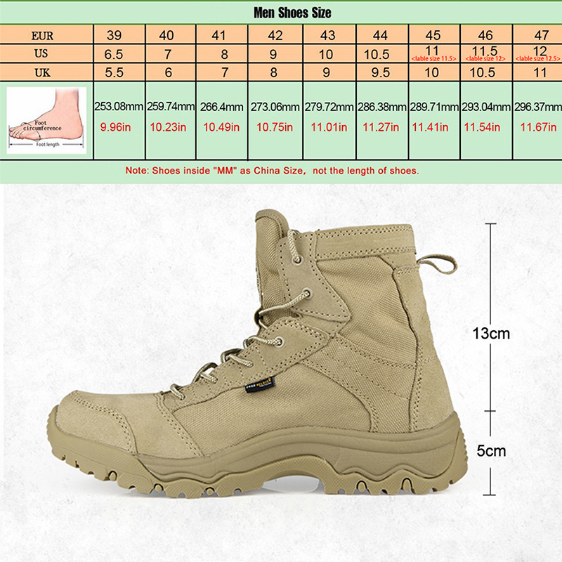 free soldier outdoor tactical boots hiking climbing shoes men shoes