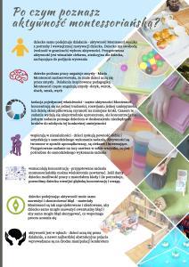 Montessori czynie