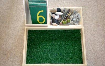 Cyfry na trawie – matematyka Montessori w praktyce