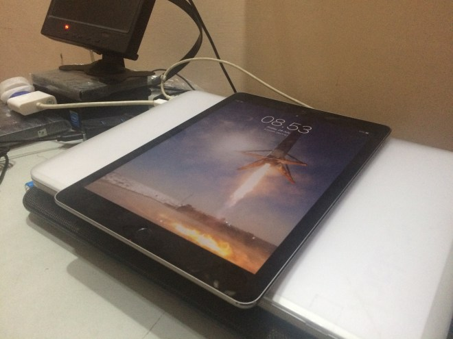 iPad Pro belakang