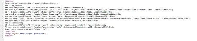 Script redirect saat halaman blank