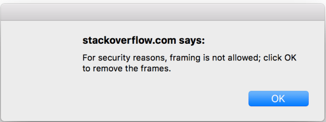 Stackoverflow error