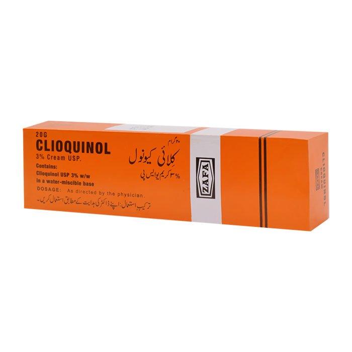 CLIOQUINOL CREAM 20gm   Zafa Pharma Laboratories   Zafa ...
