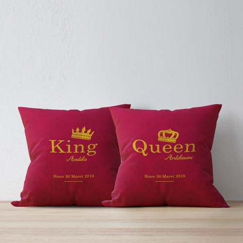 bantal couple king queen