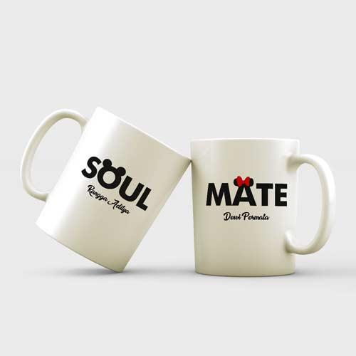 inspirasi kado pernikahan mug couple tema soul mate