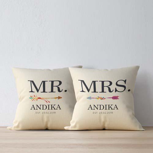 Kado couple untuk pernikahan tema mr mrs