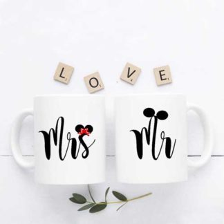 mug couple tema mr & mrs