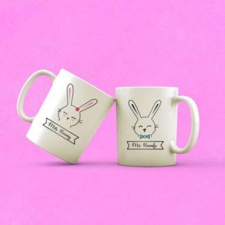 mug couple tema couple cat