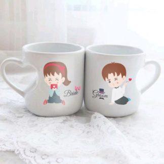 mug love couple tema pasangan lucu