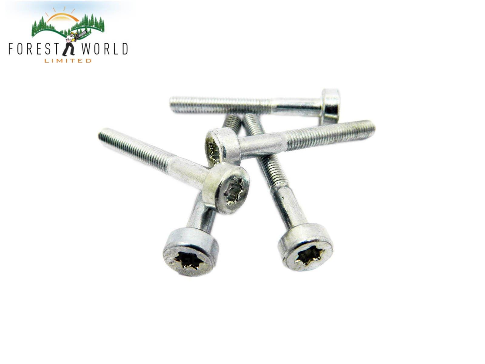 TORX screws M5 X 35 mm x 5 fits most Stihl concrete saw