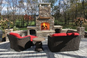 Zagers outdoor fireplaces
