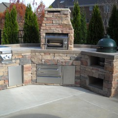 Outdoor Kitchen Cart Garbage Can Islands From Zagers Pool And Spa In Grand