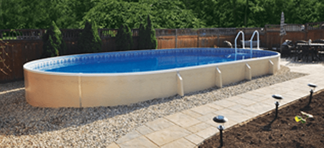 above ground pools with