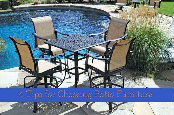 Tips for Choosing the Perfect Patio Set