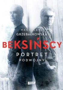 """Beksińscy. Portret podwójny"" okładka książki"