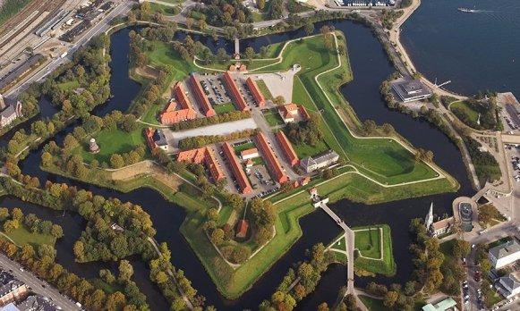 Крепость Кастелет с высоты птичьего полета.