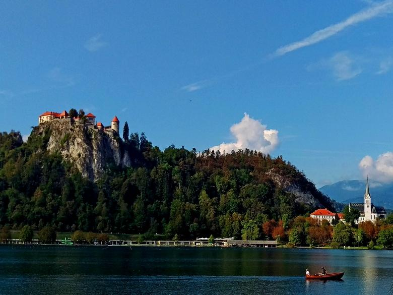 On a day tour from Zagreb to Lake Bled with Bled castle sightseeing