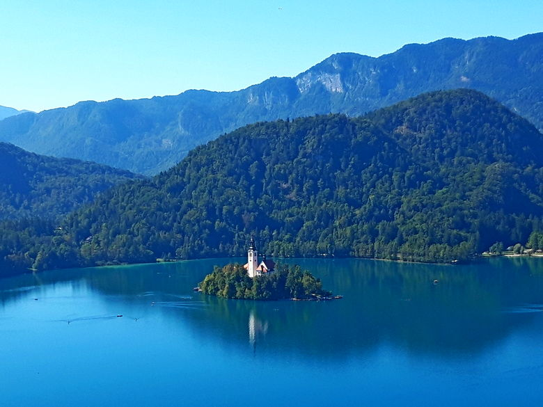 Day tour and sightseeing of Bled Island, Bled Lake and Bled castle