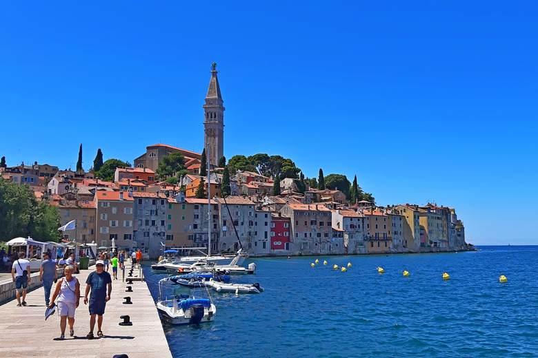 Rovinj city, Istria, Croatia