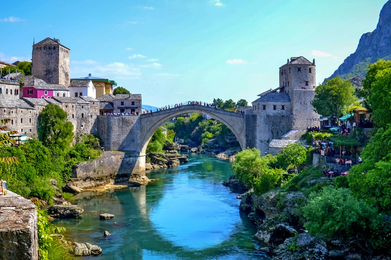 Mostar is included in the Budapest to Zagreb tour