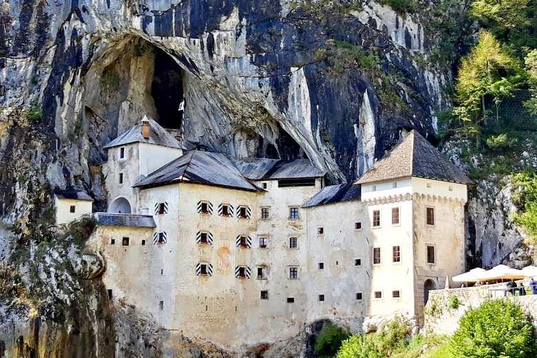Predjama castle is a Slovenian attraction