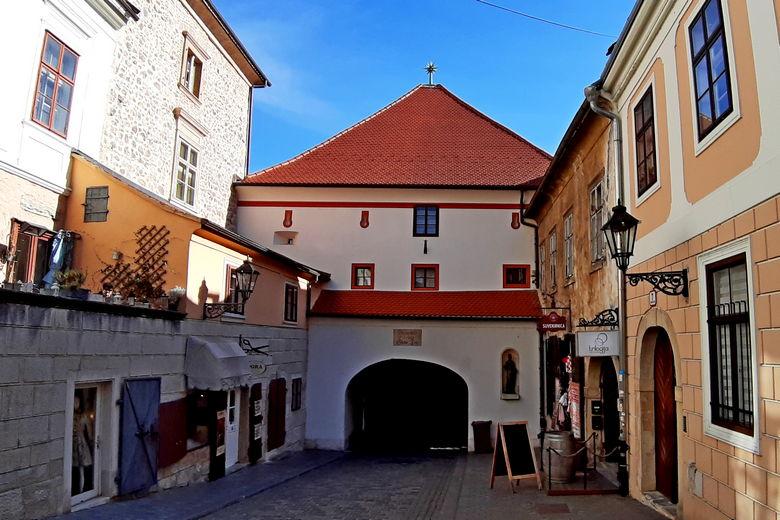 Stone gate in Zagreb