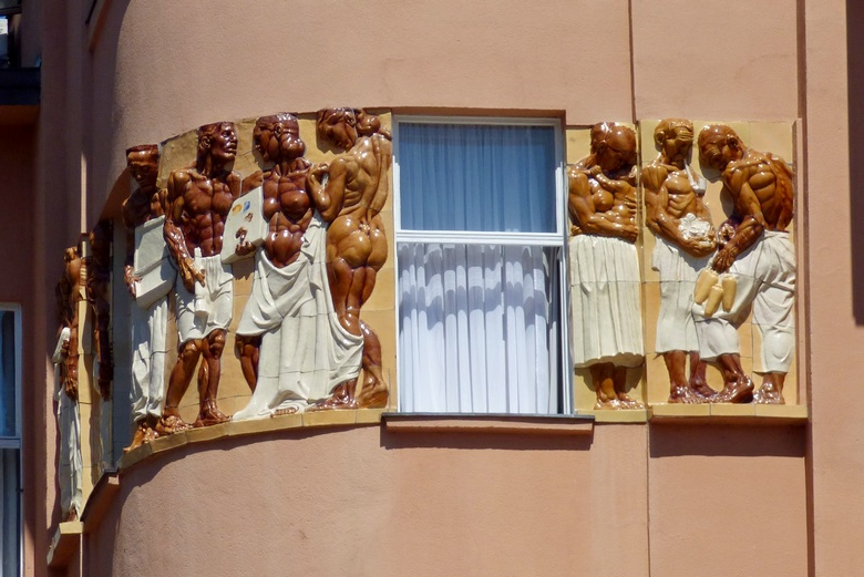 Zagreb Jelacic square relief