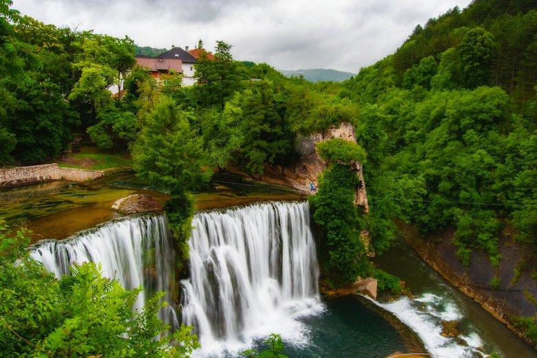 Jajce waterfall included in Bosnia & Herzegovina tour