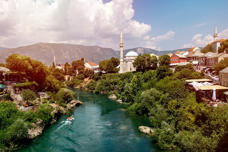 Mostar city, Bosnia and Herzegovina