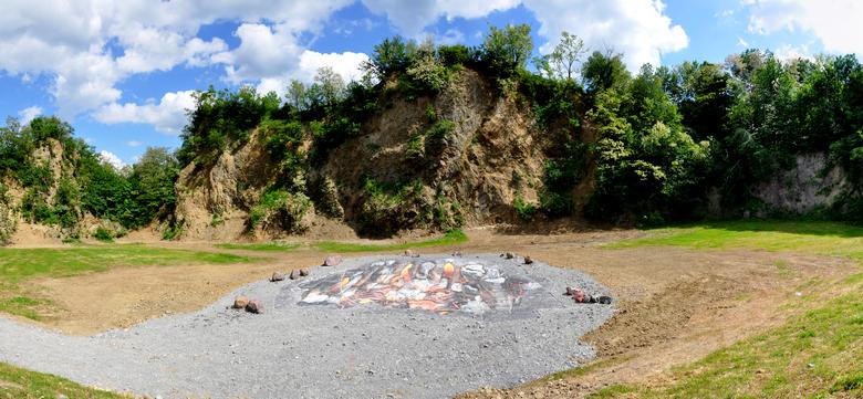 Gaveznica fossil vulcano in Lepoglava, photo TKIC