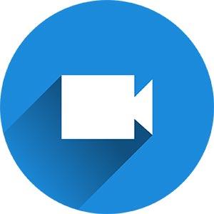 Icône d'enregistrement vidéo