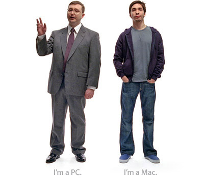 get a mac ad characters